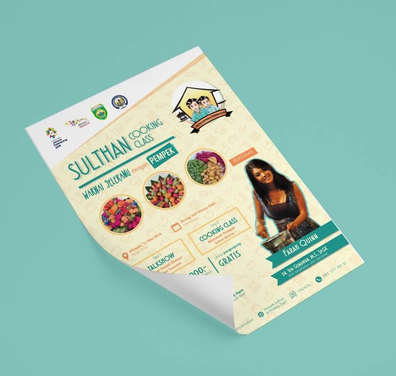 Flyer Sulthan Cooking Class