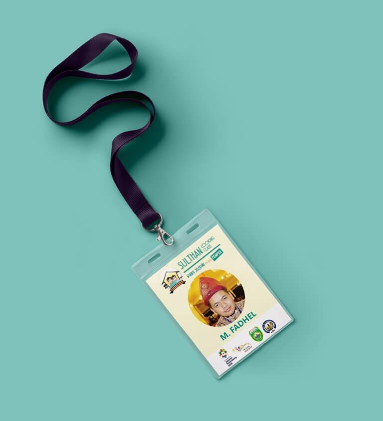 ID Card - Sulthan Cooking Class - 2017 - PORTO PRITA