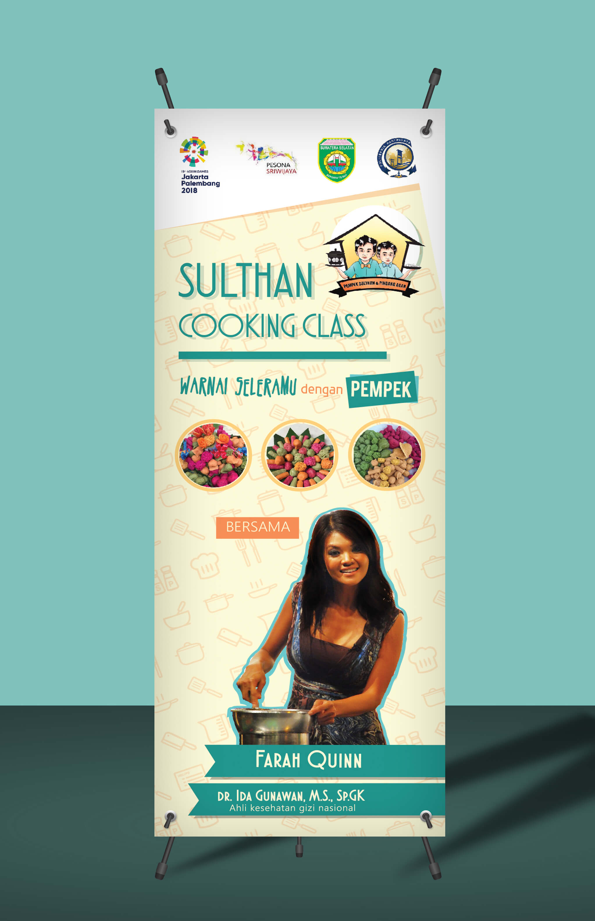 Sulthan Cooking Class - X banner - 2017 - PORTO PRITA