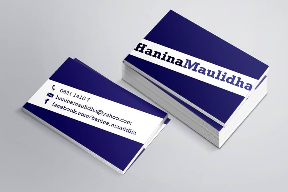 Desain Prita - Kartu nama profesional
