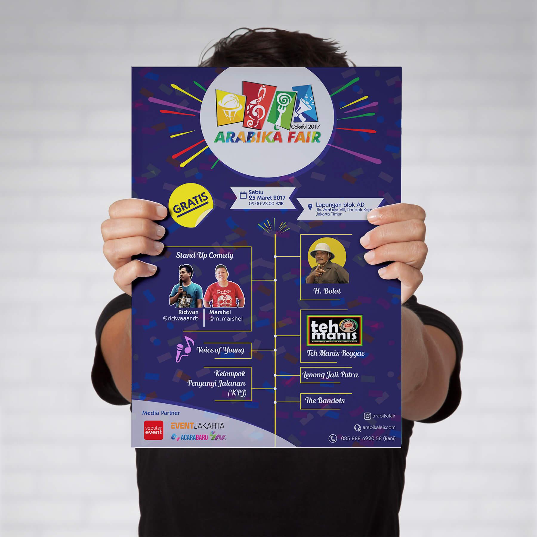 Desain Prita - Poster Arabika Fair