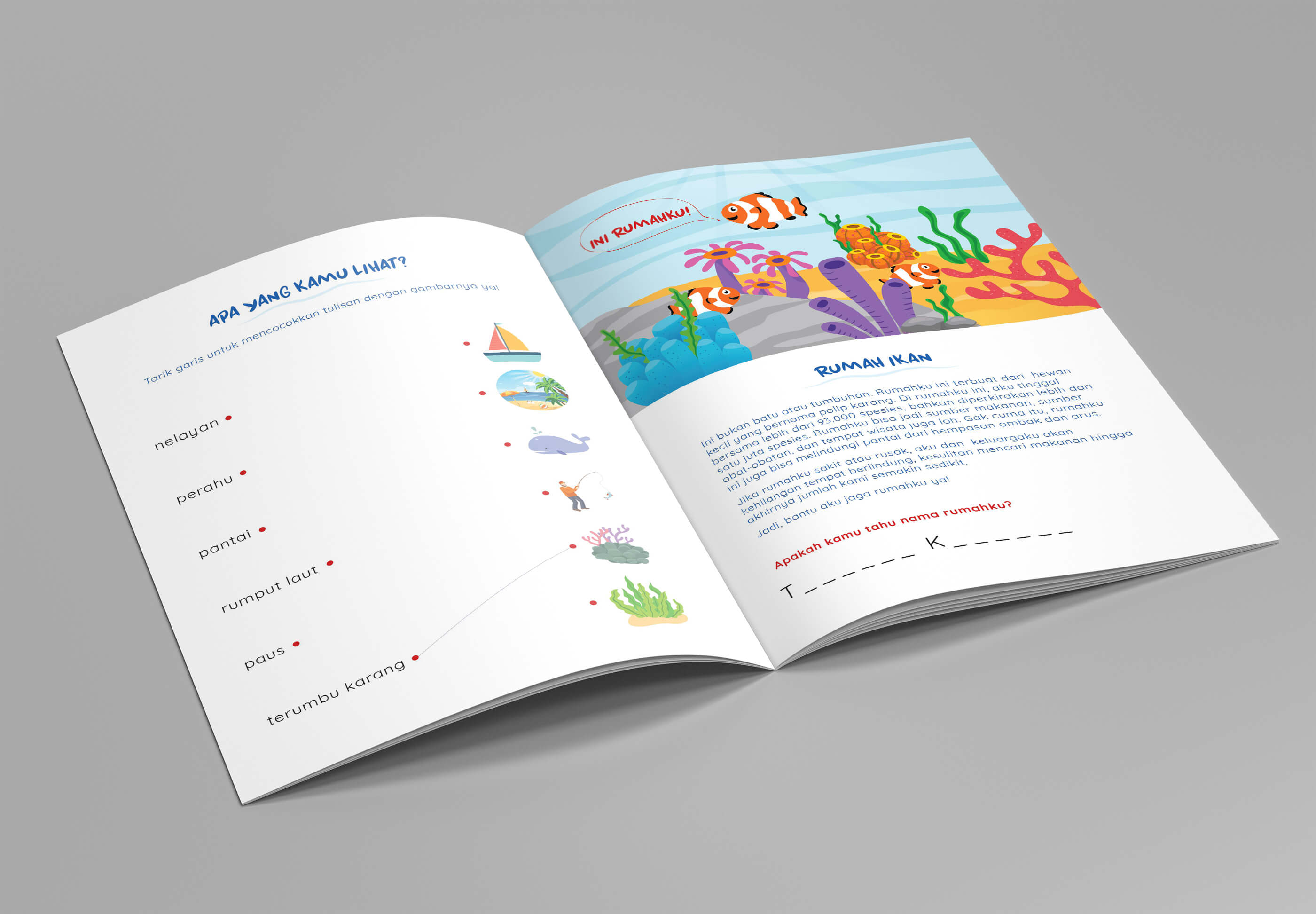Desain Prita - Isi buku aktivitas