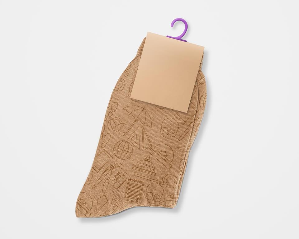 Desain Prita - Pattern di kaos kaki