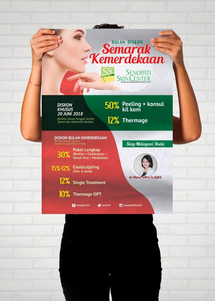Desain Prita - Poster Senopati Skin Center