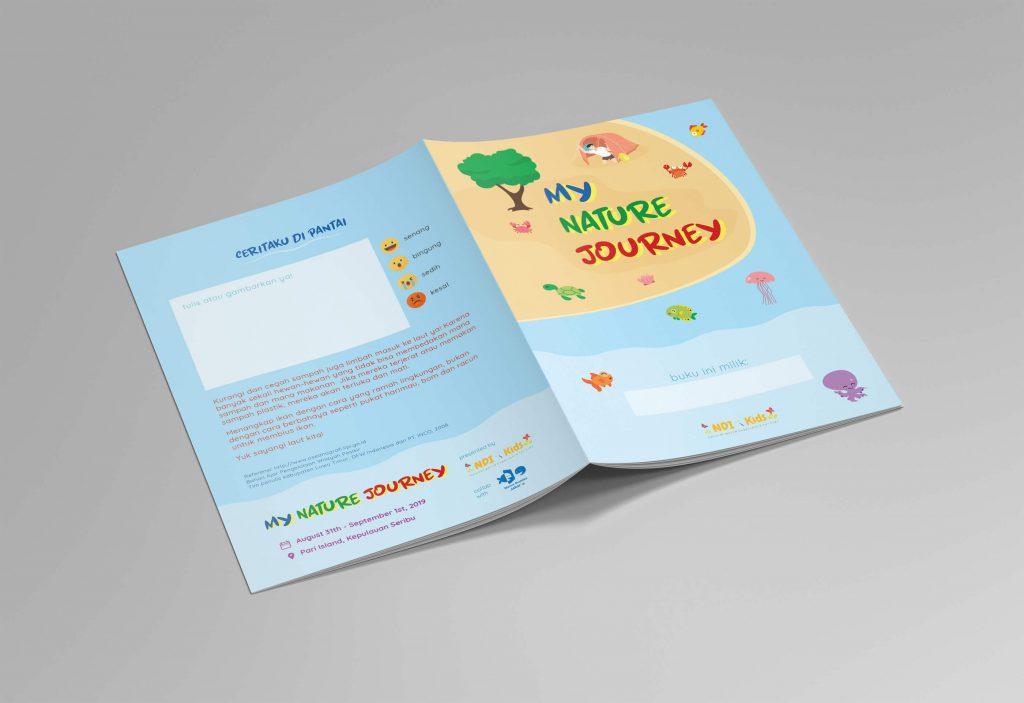 Desain Prita - Sampul buku aktivitas