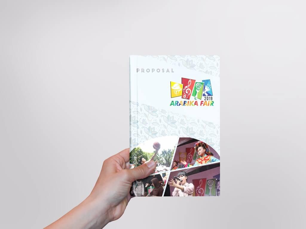 Desain Prita - Sampul Proposal Arabika Fair